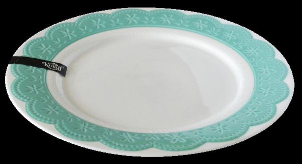 тарелка из фарфора